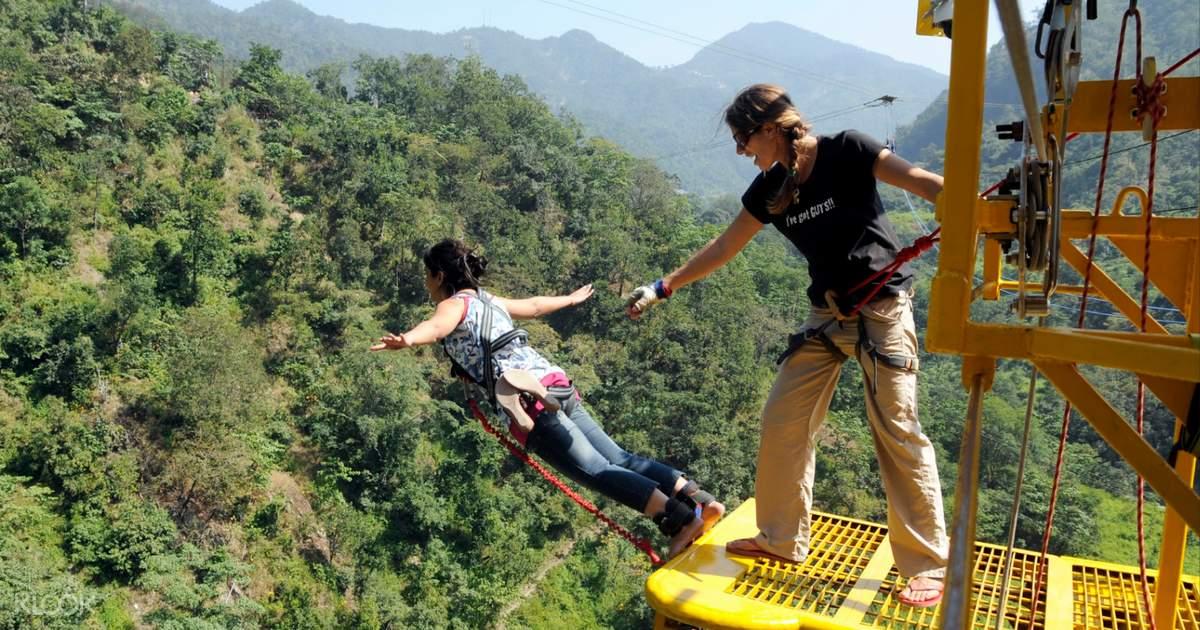 Bungee Jumping in Rishikesh, India - Klook
