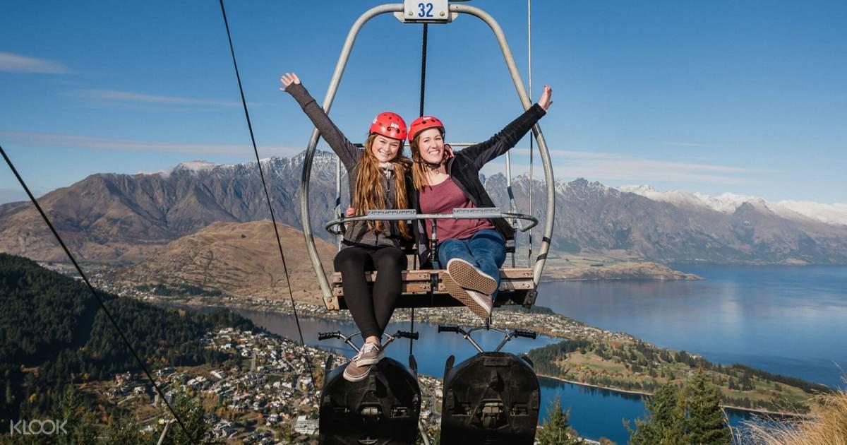 【紐西蘭絕美風景】皇后鎮觀光登山纜車+ 斜坡滑板車 - KLOOK客路