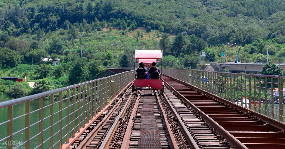 Gangchon Rail Bike Booking - Klook