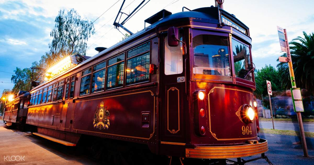 The Colonial Tramcar Restaurant in Melbourne, Victoria