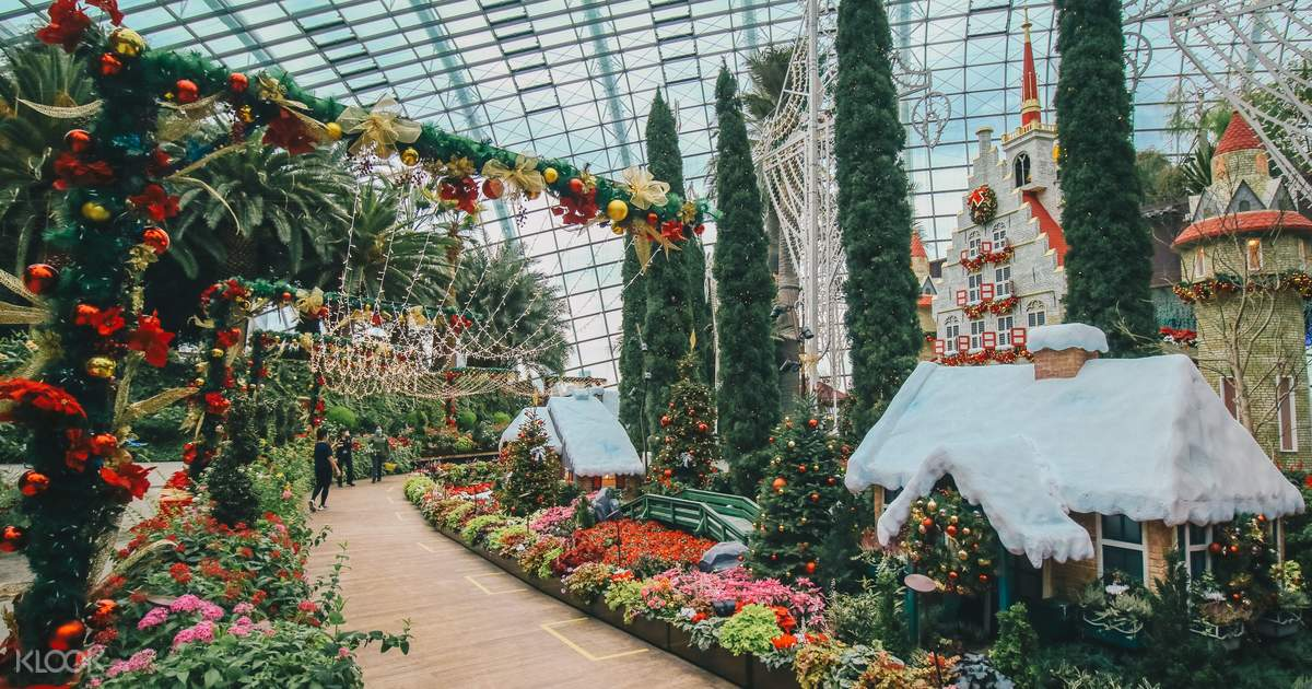 Up To 20 Off Singapore Gardens By The Bay Tickets Cloud Forest Flower Dome Klook Singapore