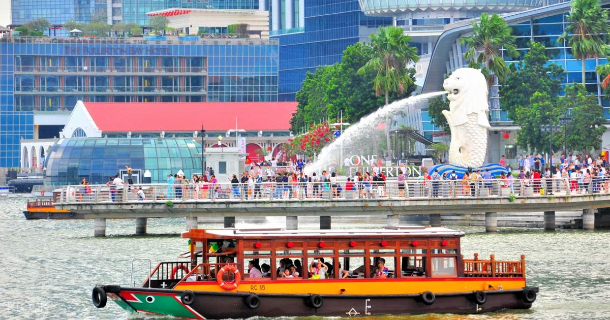 Singapore River Cruise - Klook