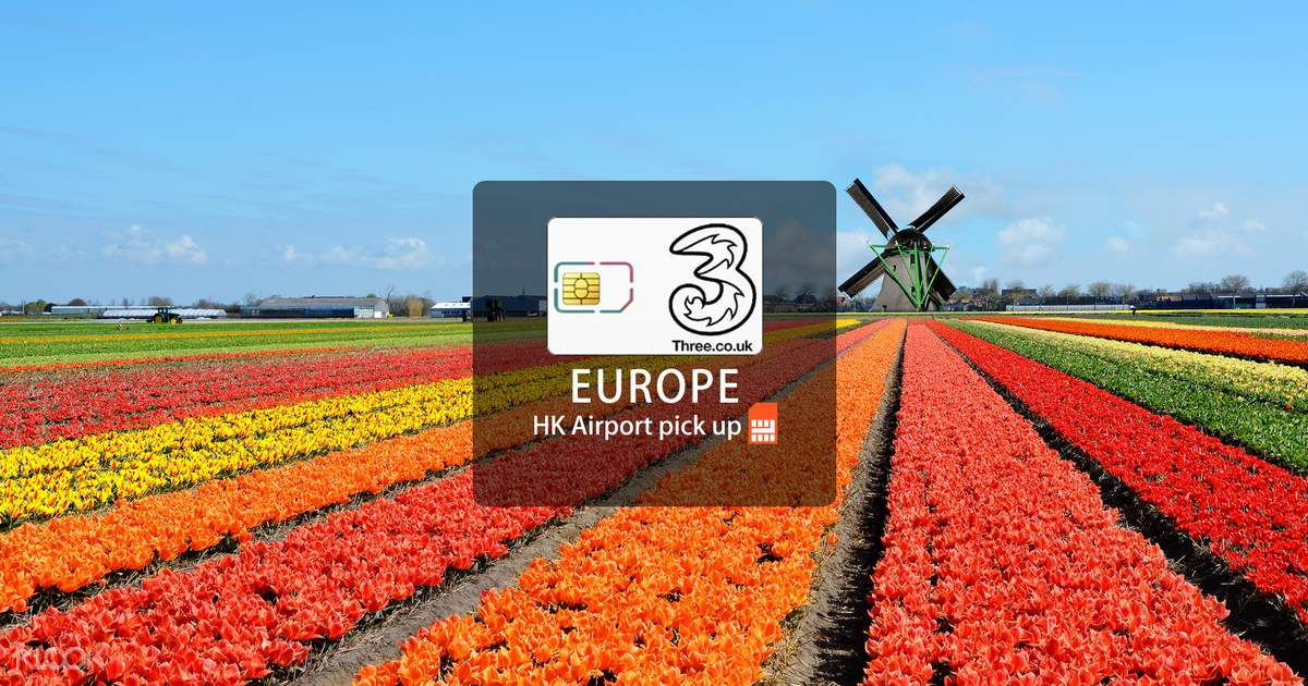 Europe Prepaid SIM Card (Hong Kong Airport Pick Up) - Klook