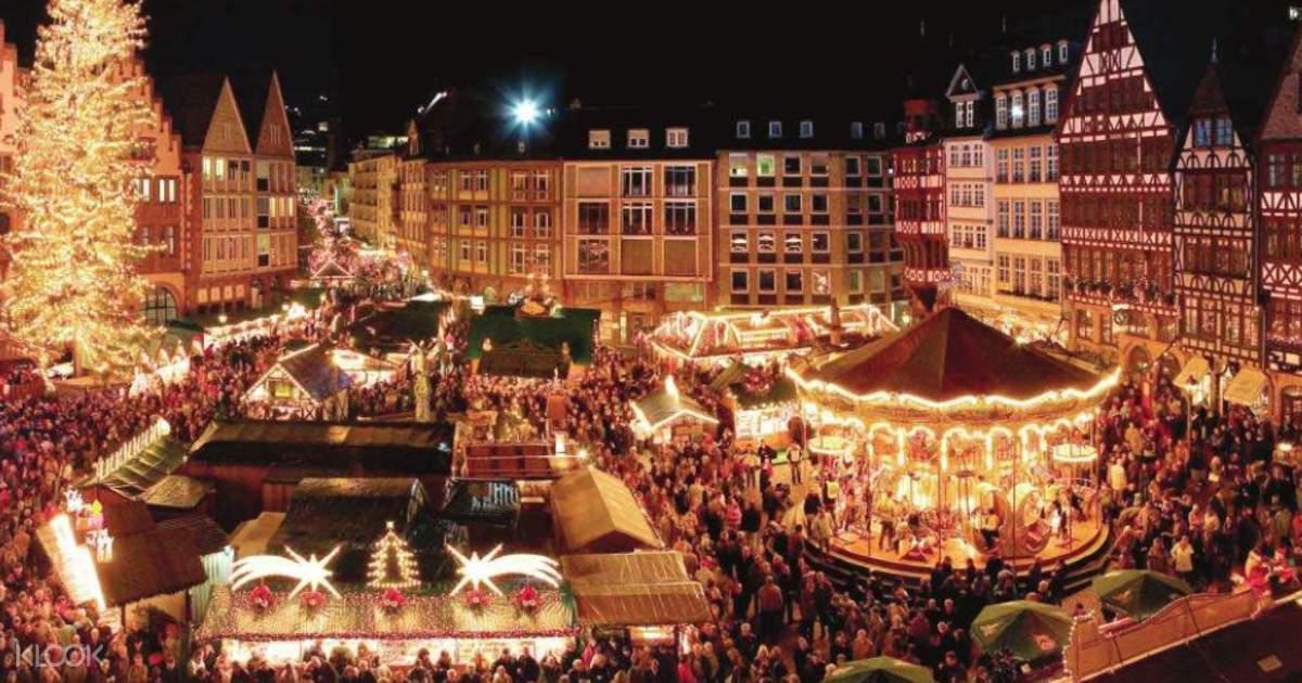 Christmas In Munich Germany.Munich Christmas Market Tour