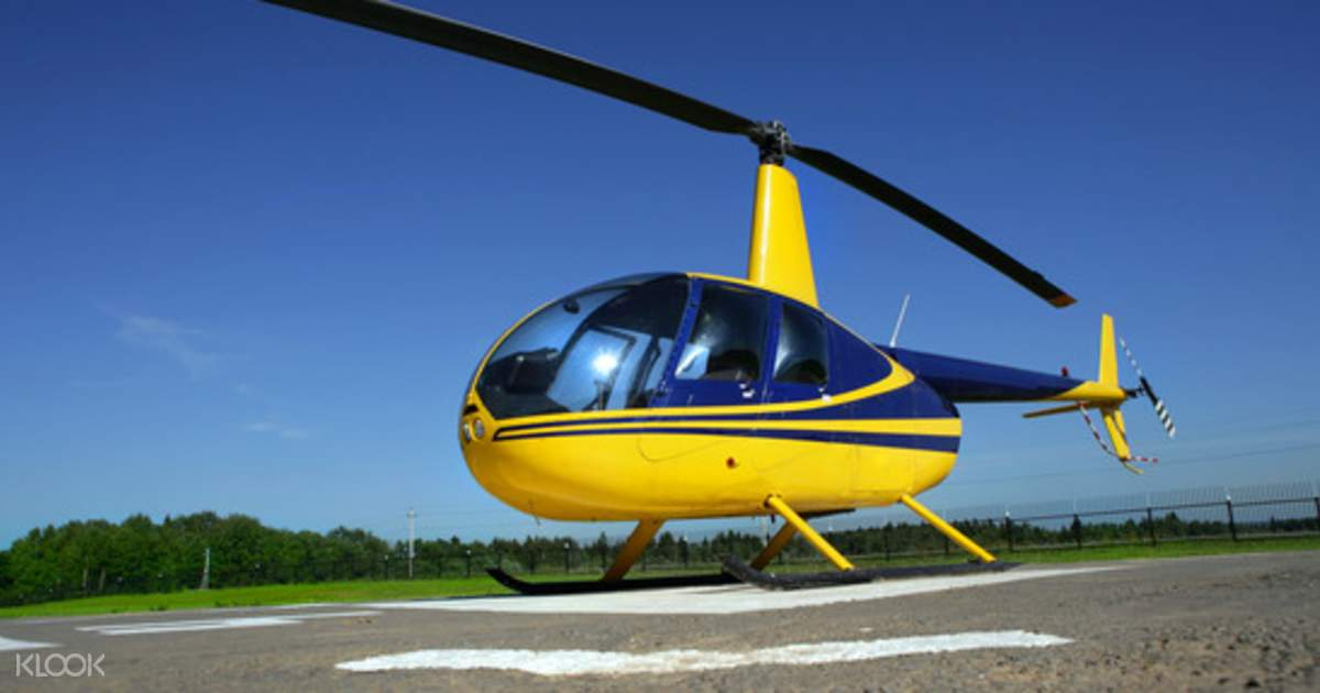 Helicopter Flight Experience in London - Klook