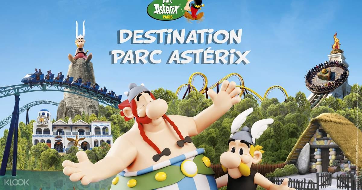 Parc Astérix Ticket With Optional Transportation From Paris