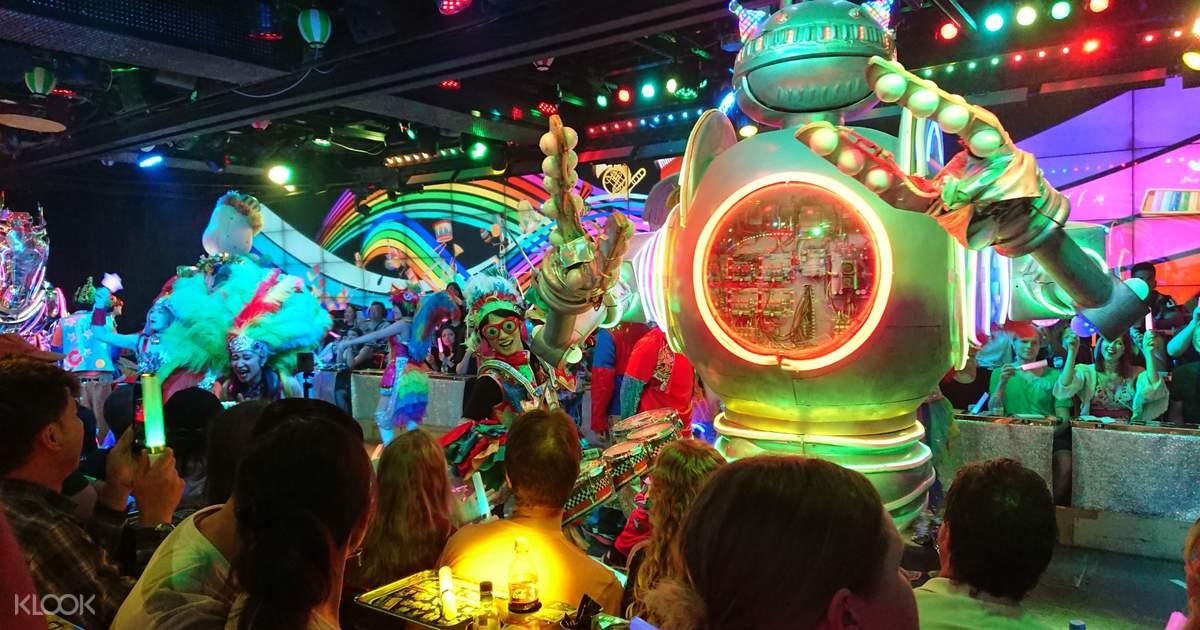 The High-Tech show in Shinjuku, Tokyo - Robot Restaurant