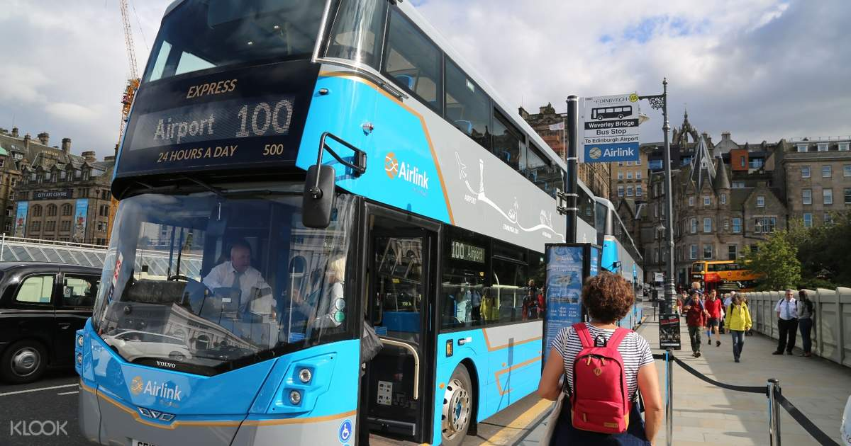 Shuttle Bus Transfers From Edinburgh Airport Edi To City Center By Airlink 100 Klook Us