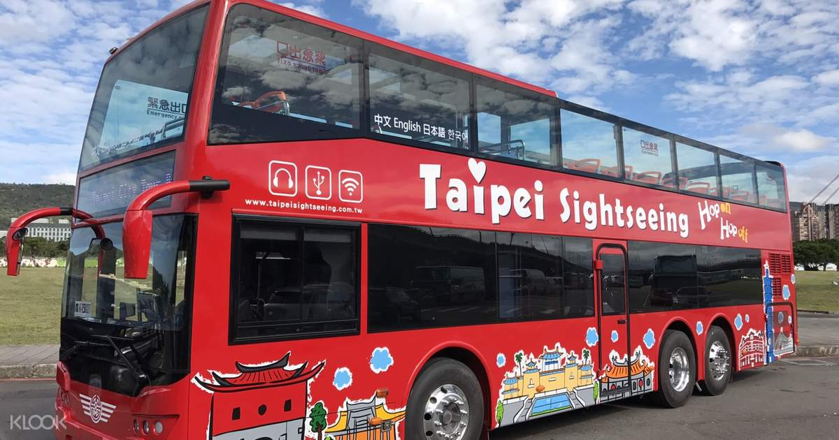 Enjoy Sightseeing with the Taipei Double Decker Bus Tour