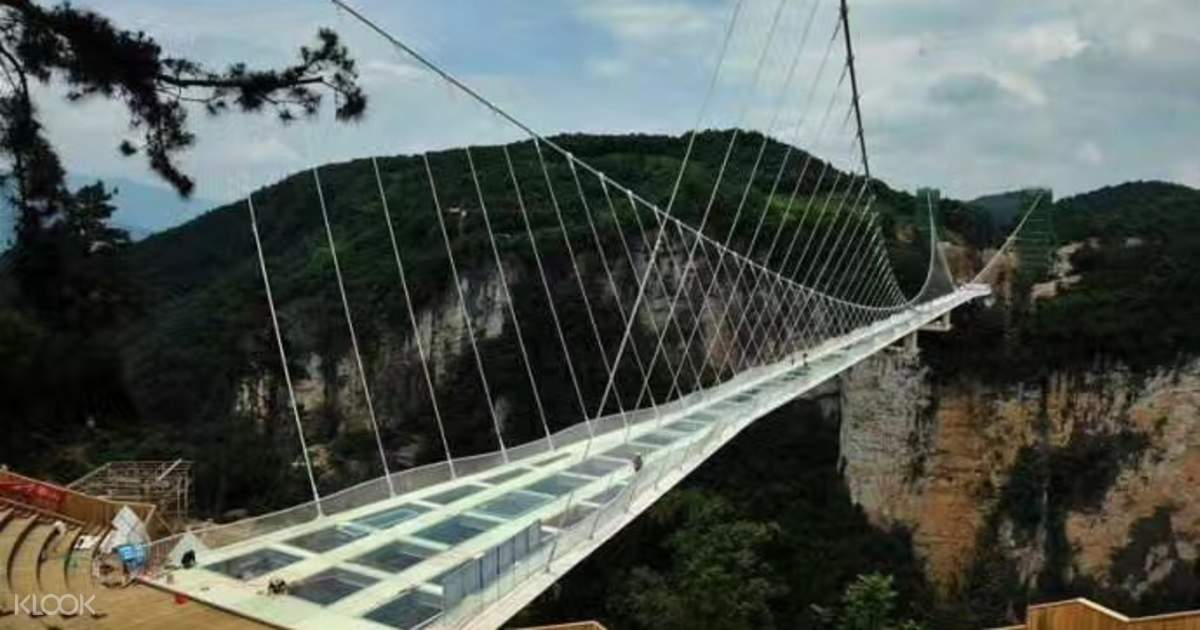 zhangjiajie grand canyon and glass bridge discount tickets zhangjiajie china klook - Zhangjiajie Glass Bridge