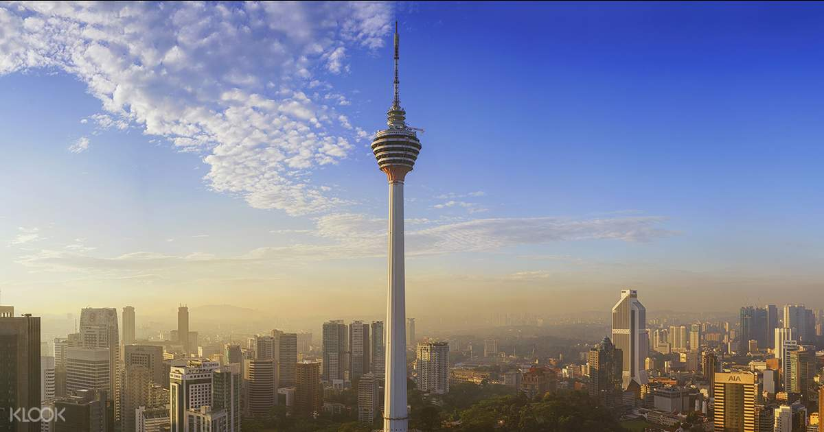 Kl Tower In Malaysia Observation Deck Cityscapes From An