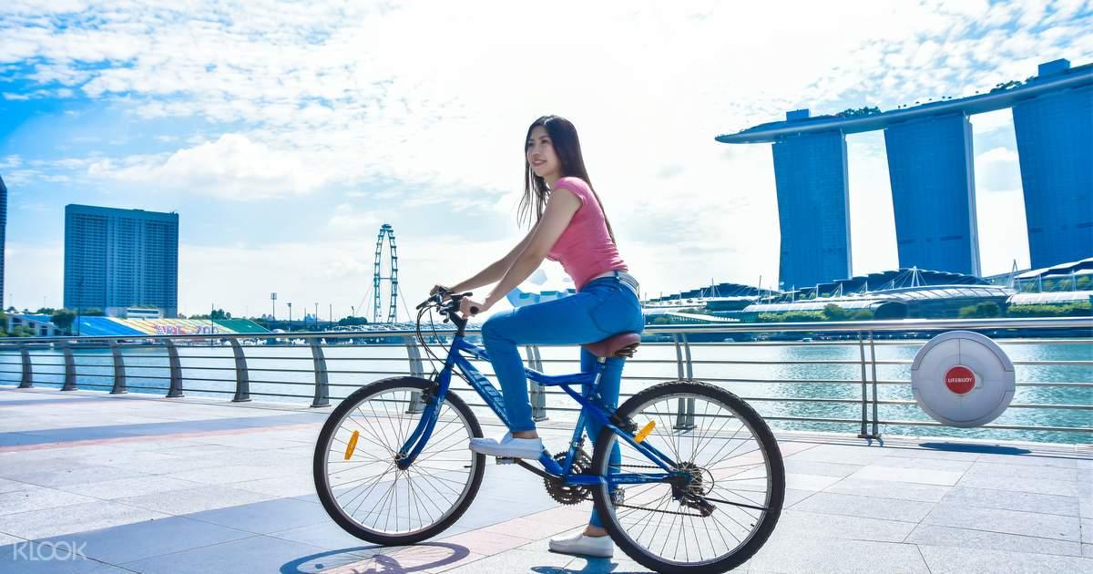 마리나 베이 세그웨이 미니프로, 전동킥보드 & 자전거 대여 - Klook