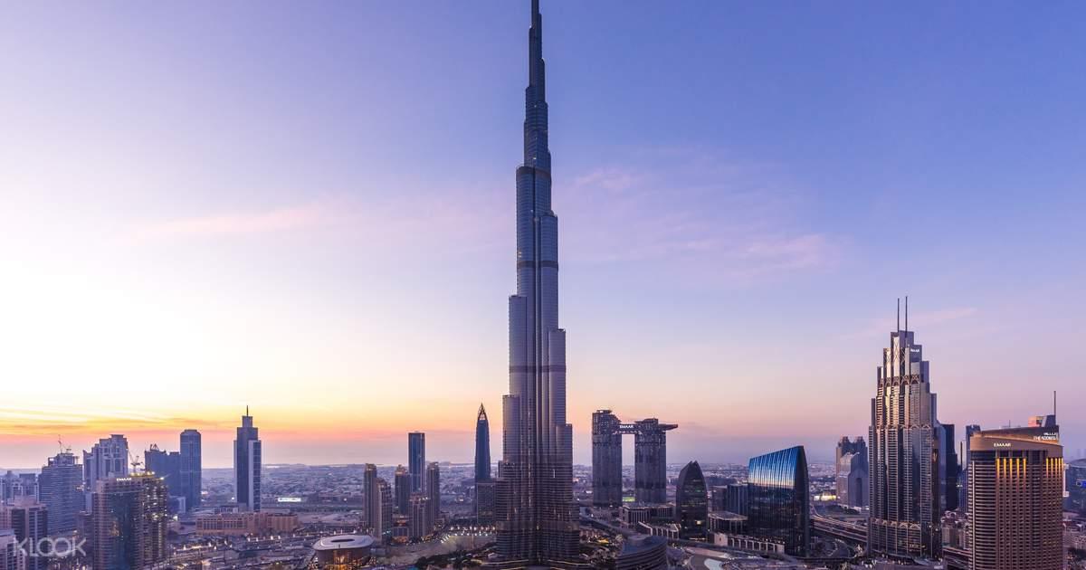 Burj Khalifa Observation Deck with Dubai Aquarium & More - Klook UK