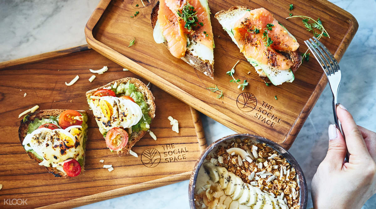 Breakfast Toasts and Healthy Smoothies The Social Space in Outram Park