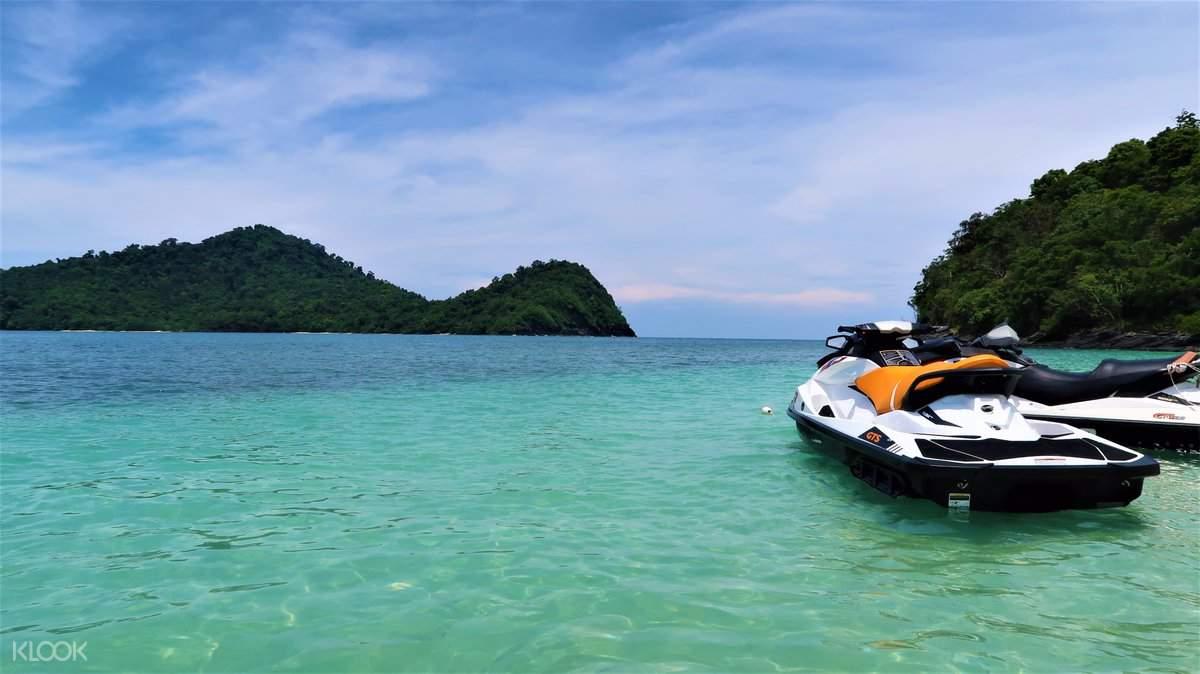 Langkawi island jet ski