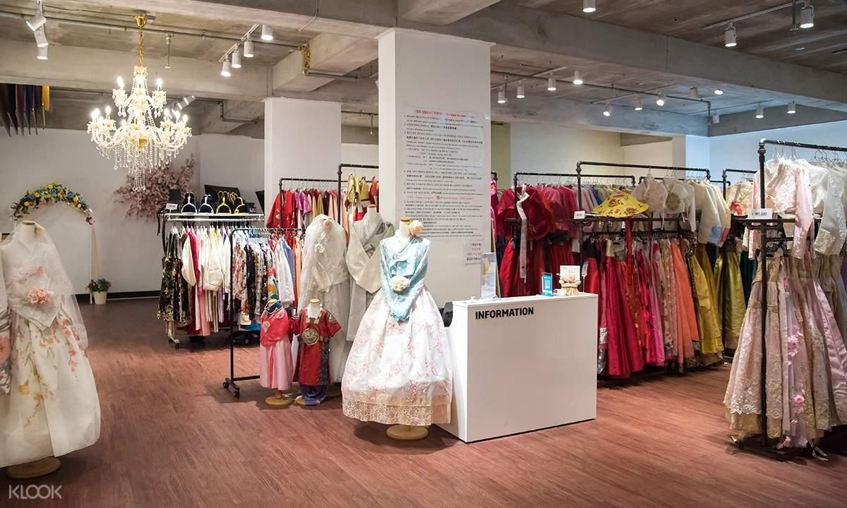 Flowery Hanbok shop