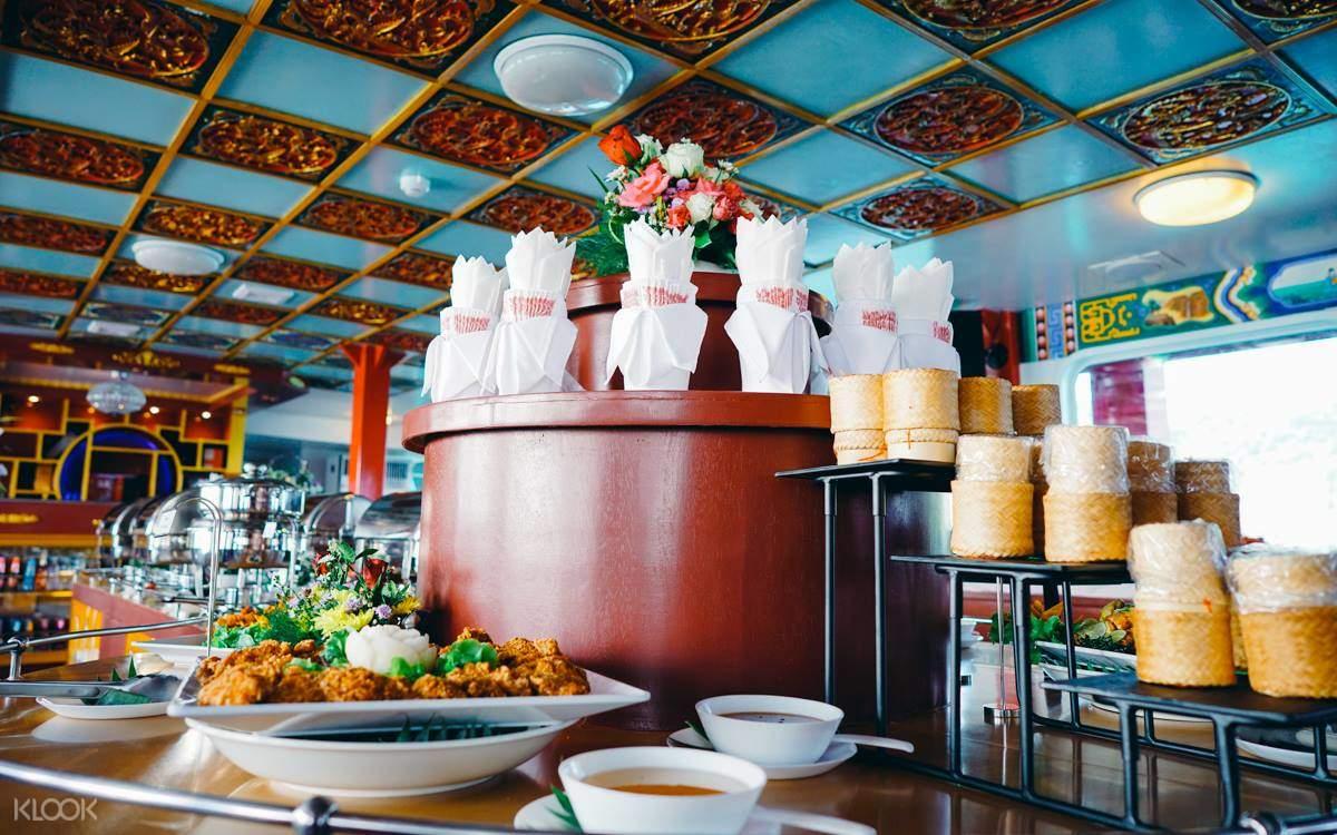 Dragon Boat Sunset Dinner in Phuket