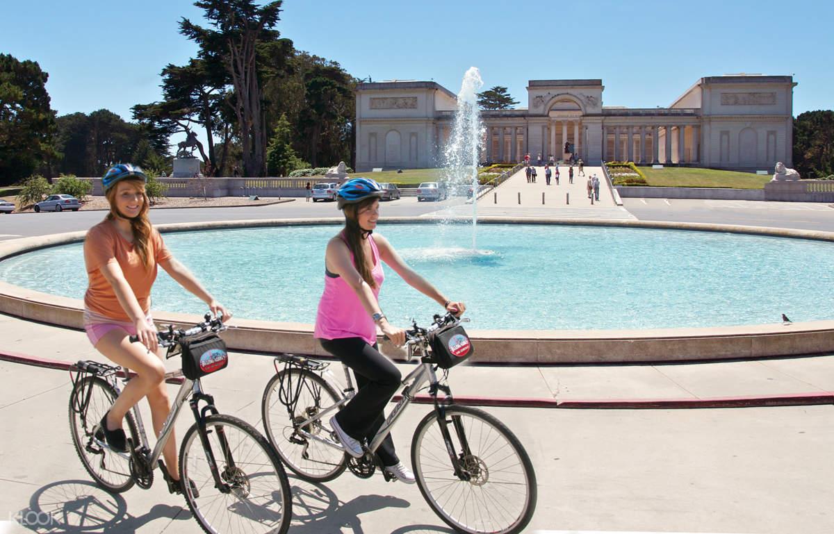 san francisco bike rentals by Blazing Saddles