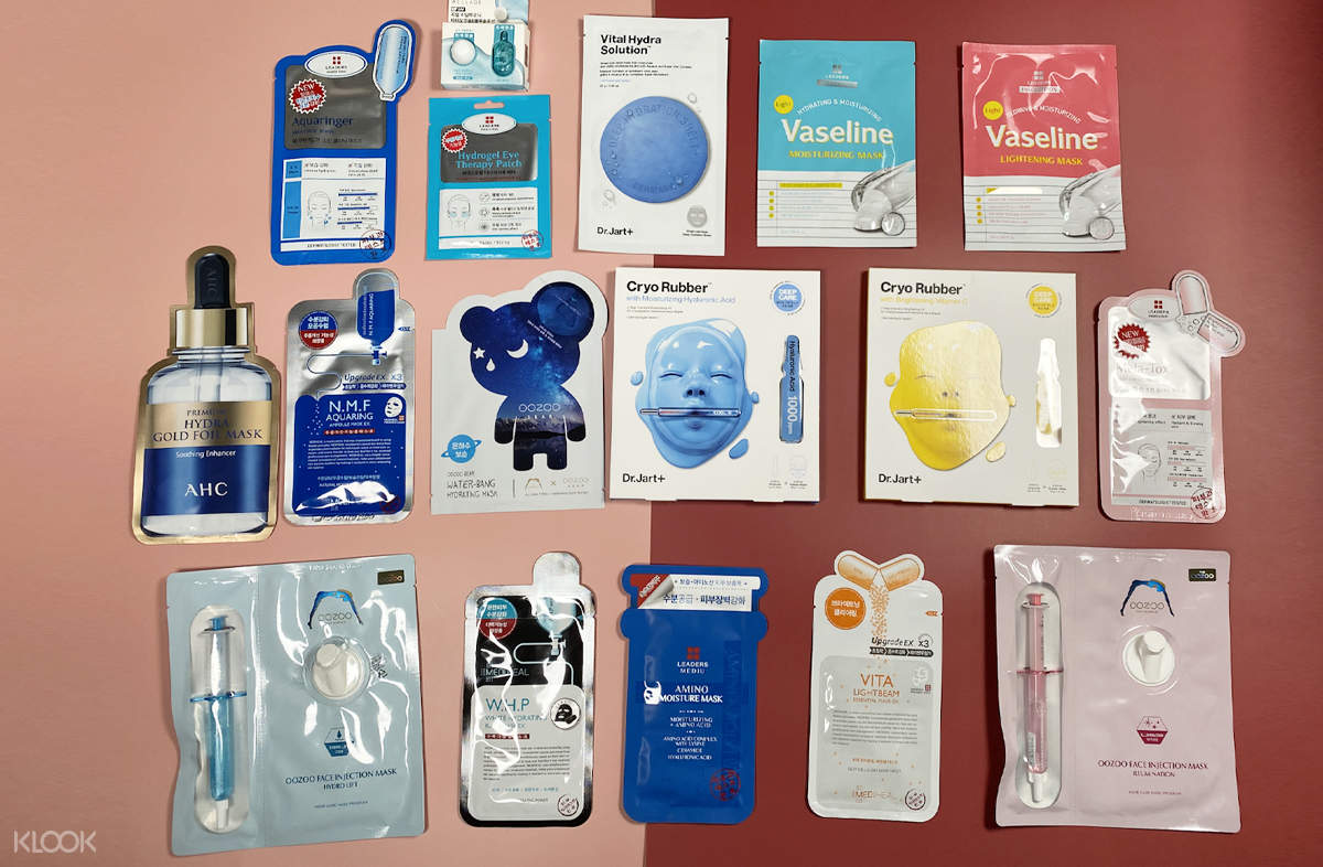 Whitening and Hydrating Mask Pack Box