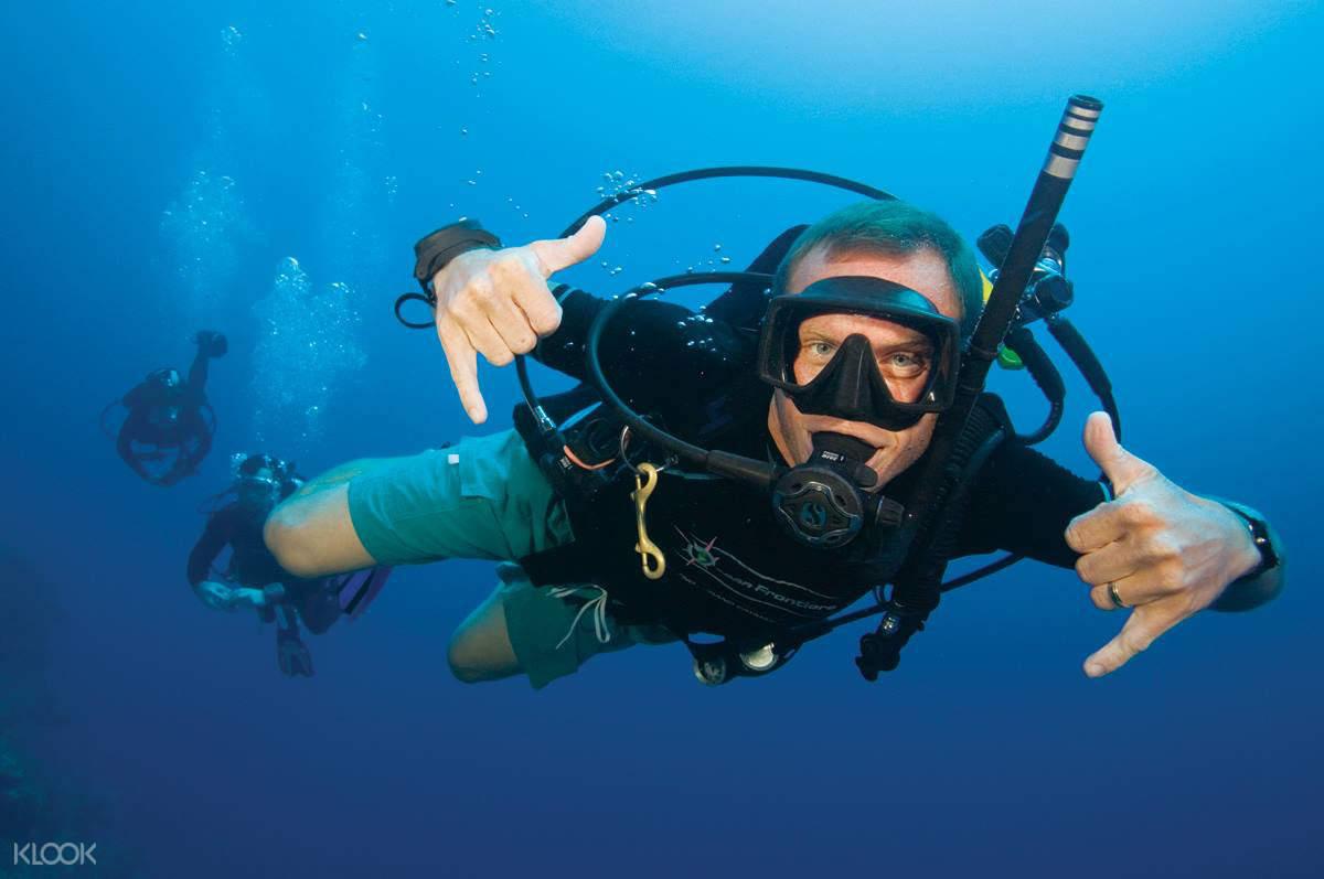 涛岛深潜体验(苏梅岛出发)