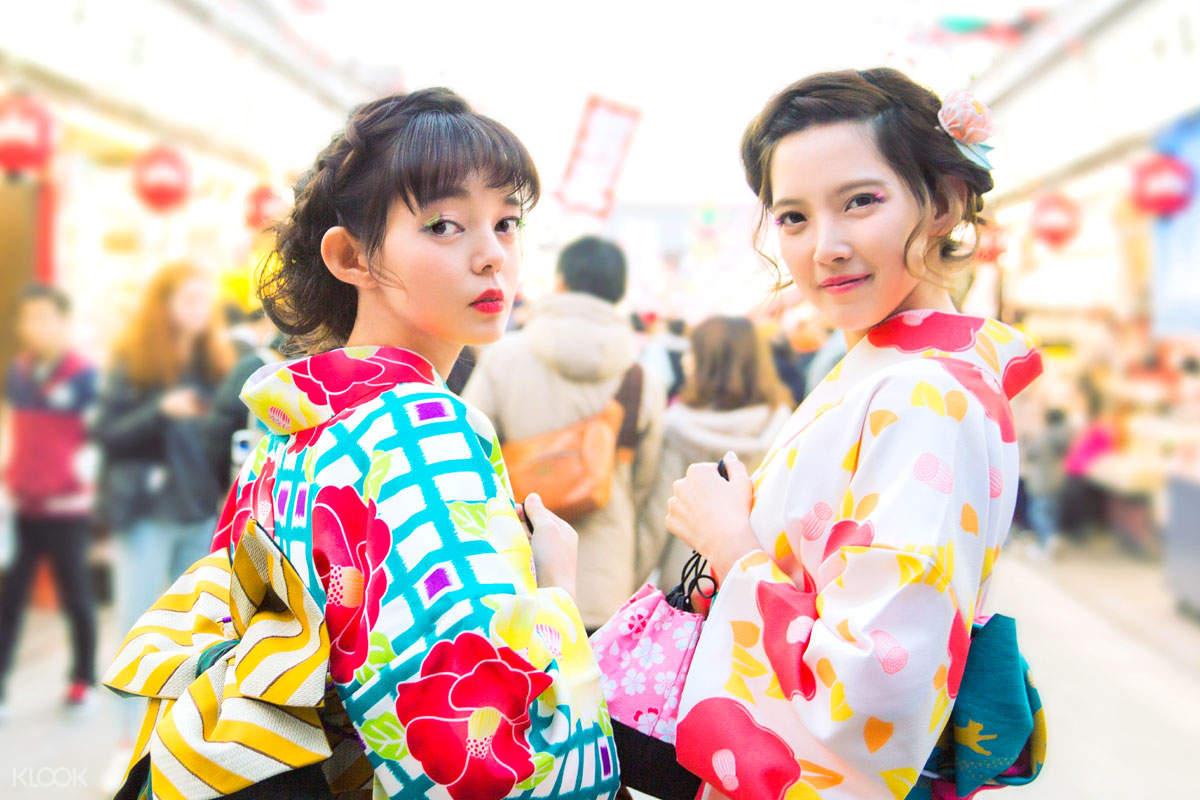 日本东京浅草Hana和服体验