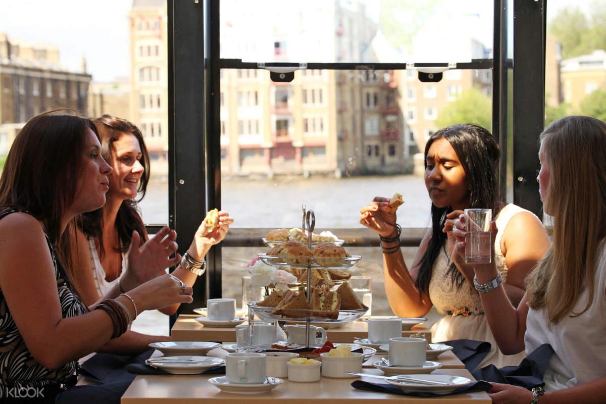 泰晤士河下午茶遊輪之旅