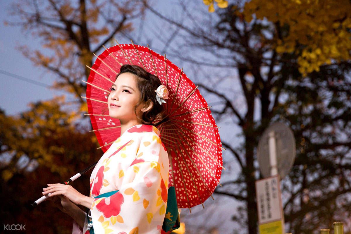 日本東京淺草Hana和服體驗