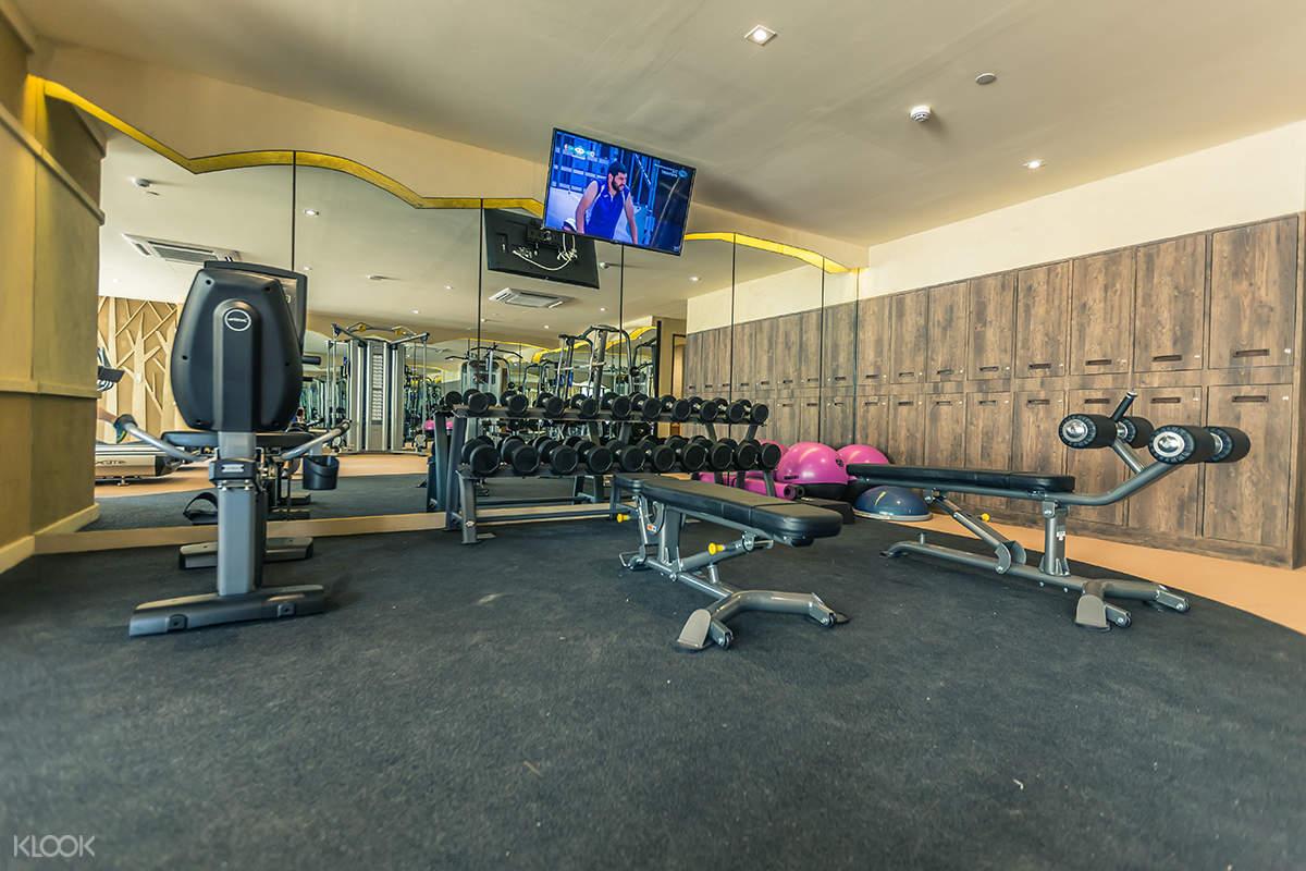 Pamookkoo Resort - Fitness Room