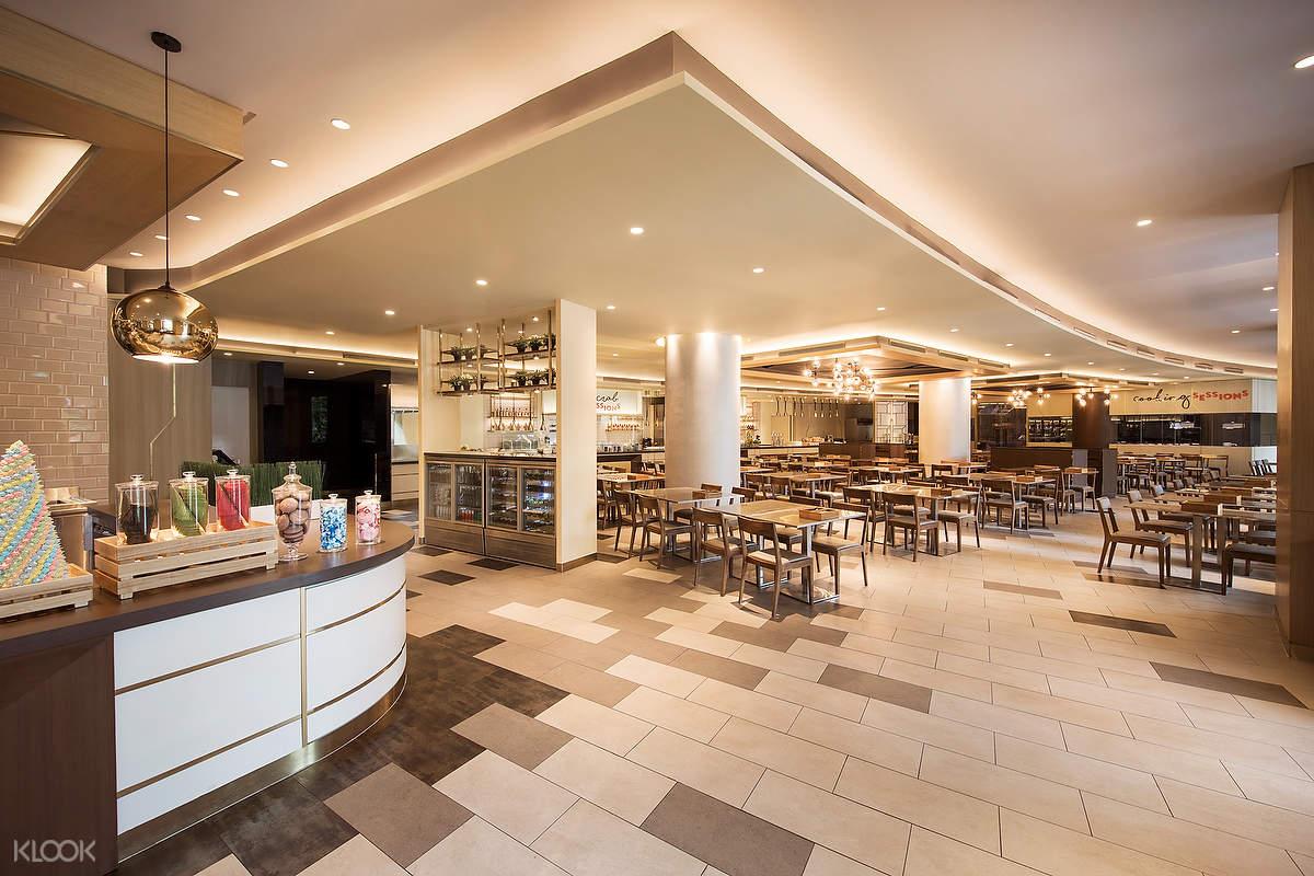 圣淘沙名胜世界硬石酒店Sessions餐厅精选午餐晚餐