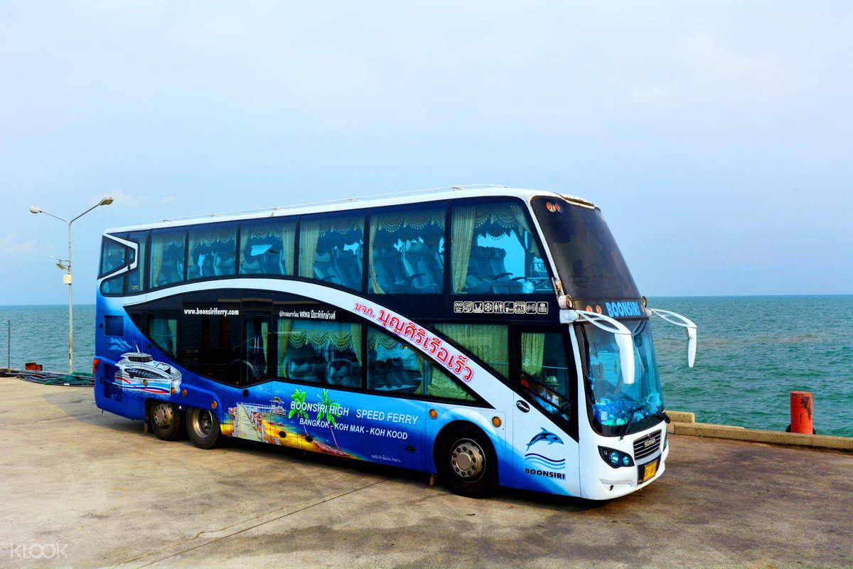 bus ferry combined ticket bangkok to koh chang koh kood koh mak klook. Black Bedroom Furniture Sets. Home Design Ideas