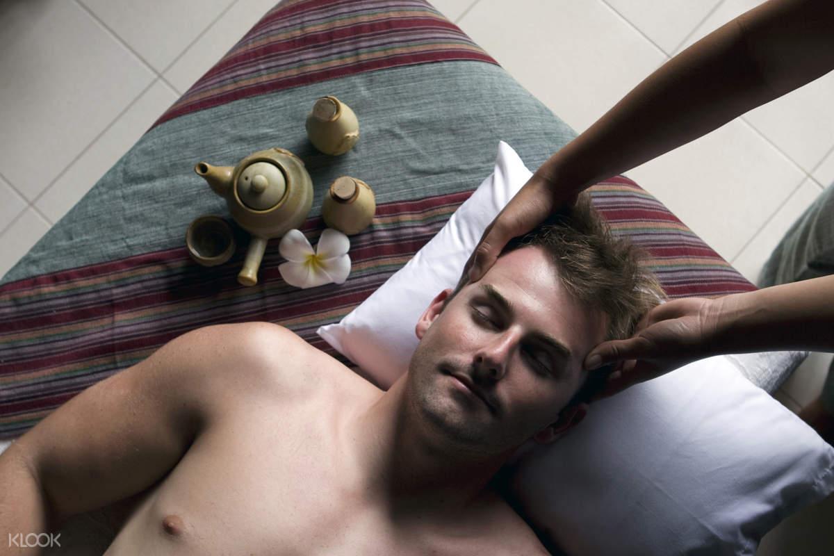 Nurture Wellness Village Tagaytay Spa Experience masseuse