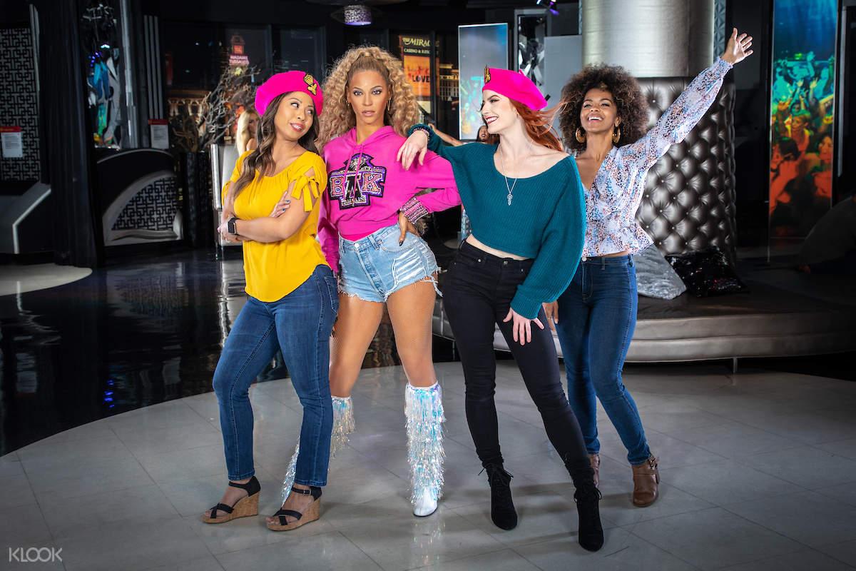 Beyonce and dance crew