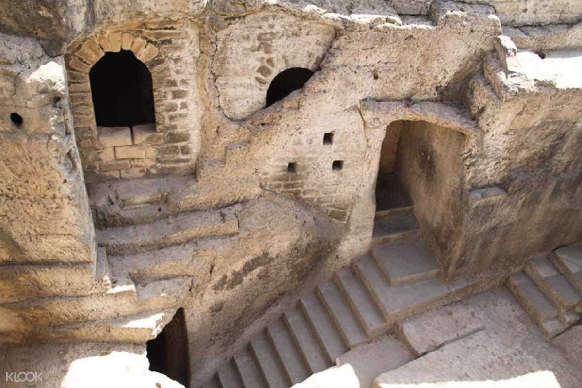 Uperkort Caves in Junagadh