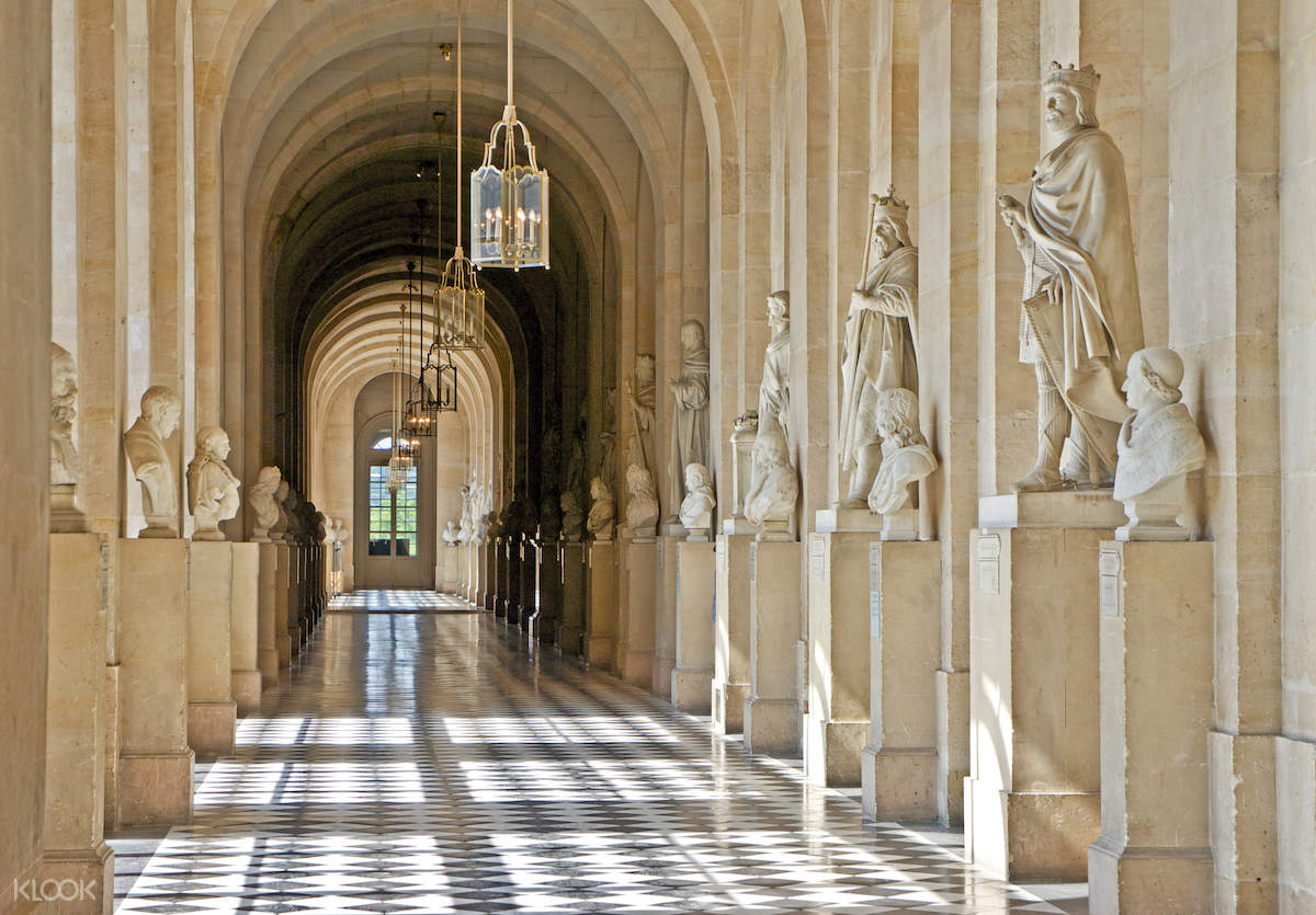 corridor palace of versailles