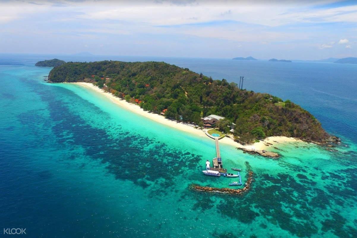 overview of maithon island