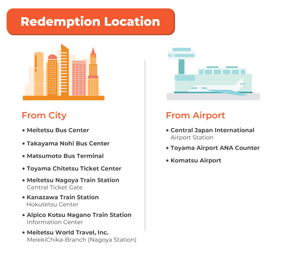 shoryudo highway bus pass redemption locations