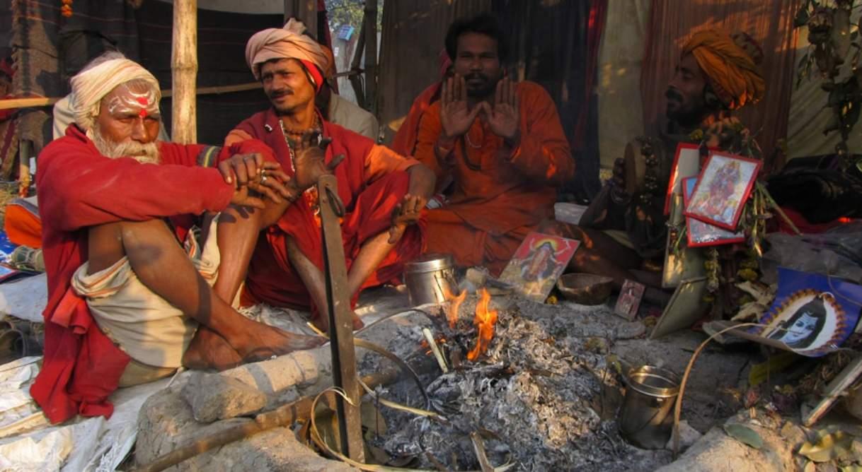 hindus in gangasagar island