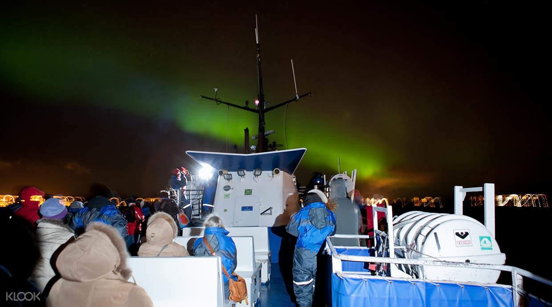冰島極光船遊