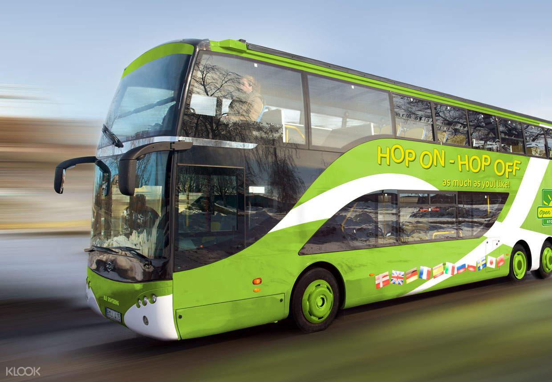 stockholm hop on hop off bus
