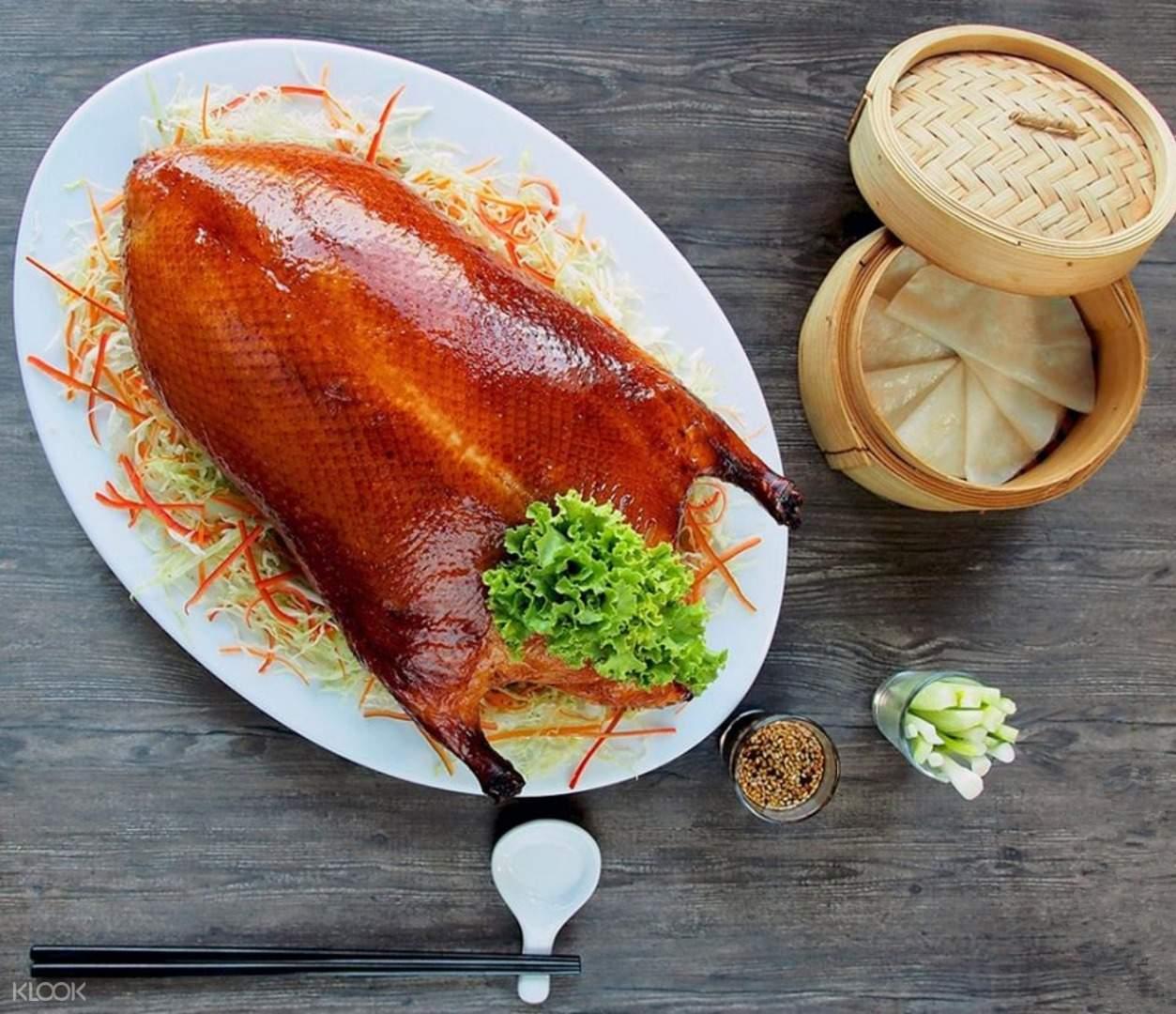 曼谷拜约克彩虹云霄酒店stella palace餐厅北京烤鸭