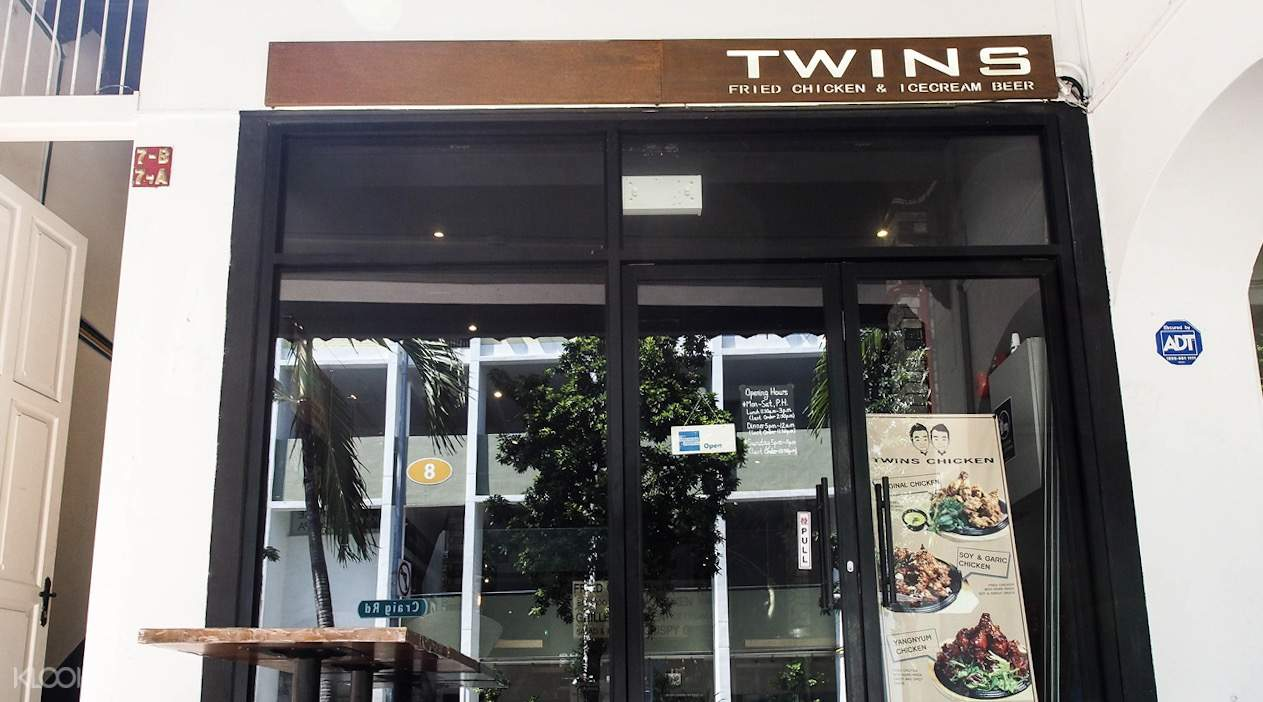 Twins Korean Restaurant in Tanjong Pagar