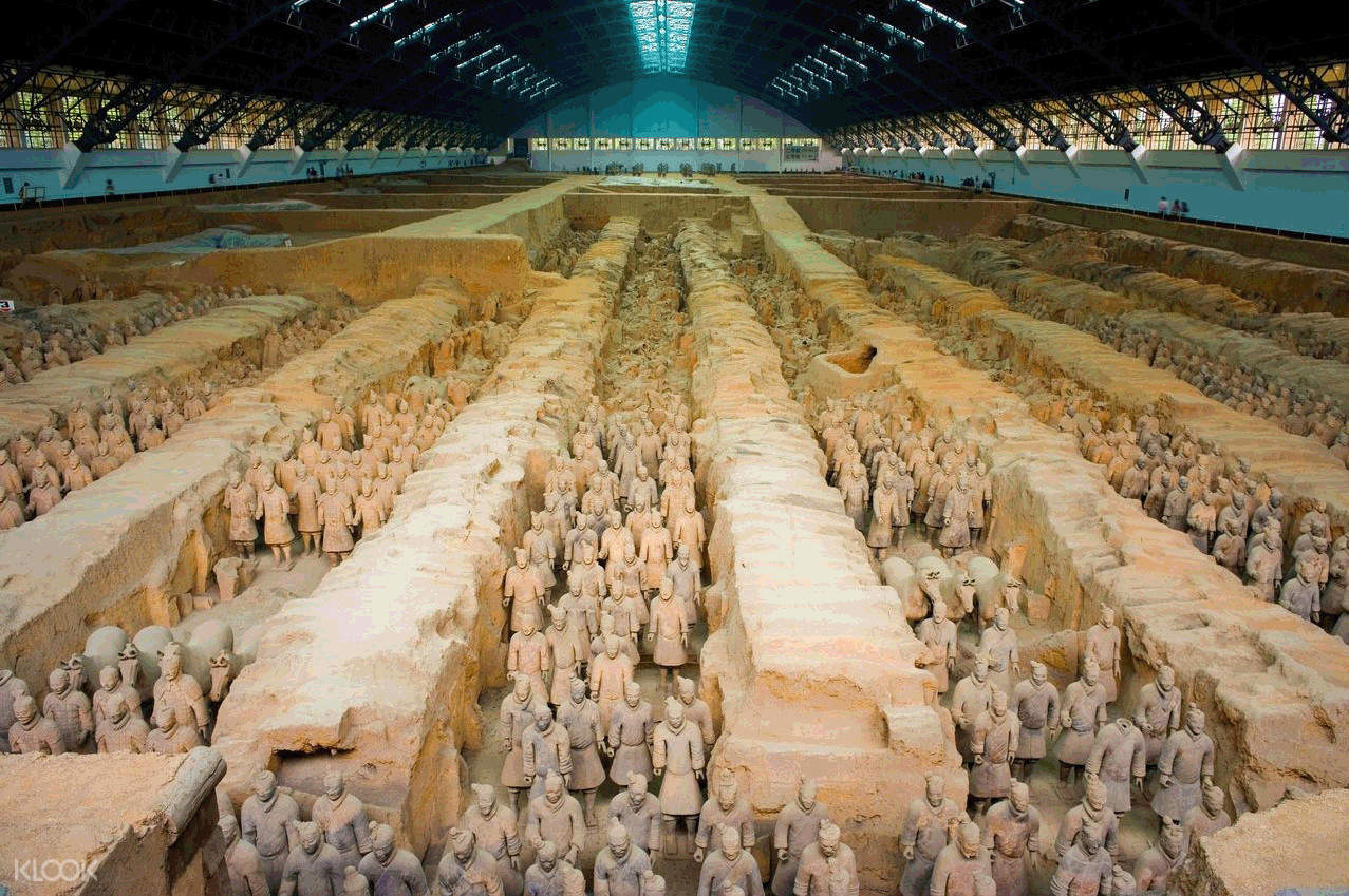 terracotta army ticket