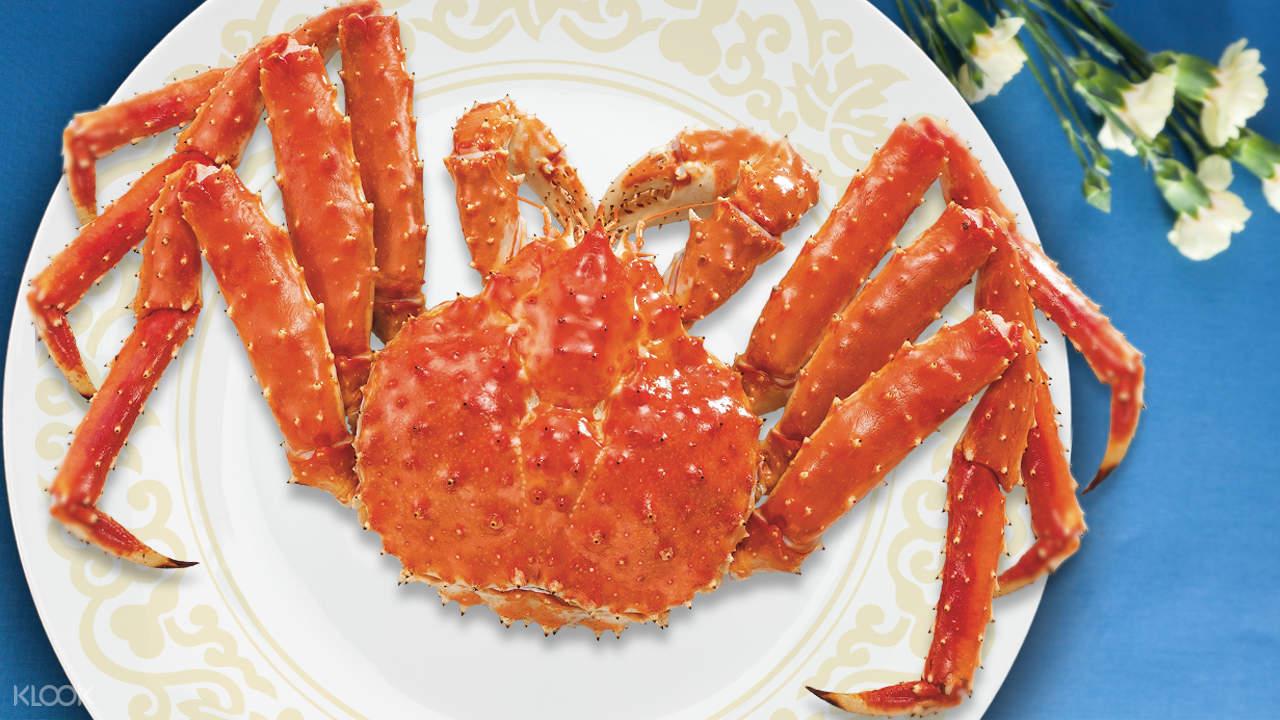 alaskan king crab victoria harbour restaurant hong kong