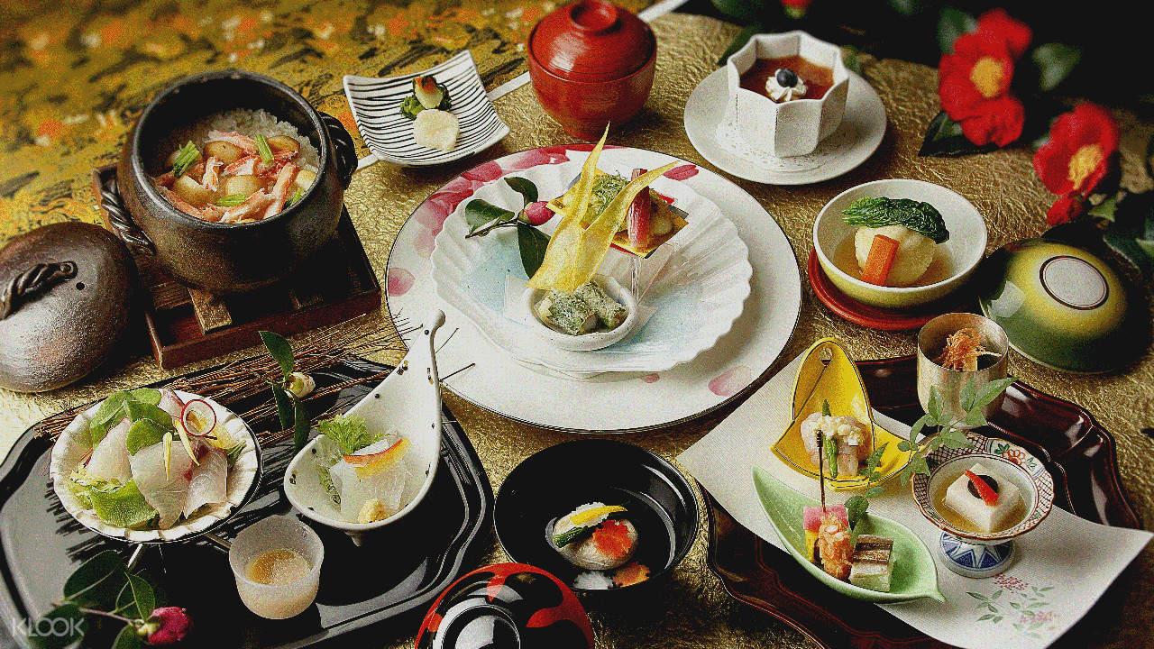 NADAMAN Hinkan Kaiseki meal shinjuku tokyo