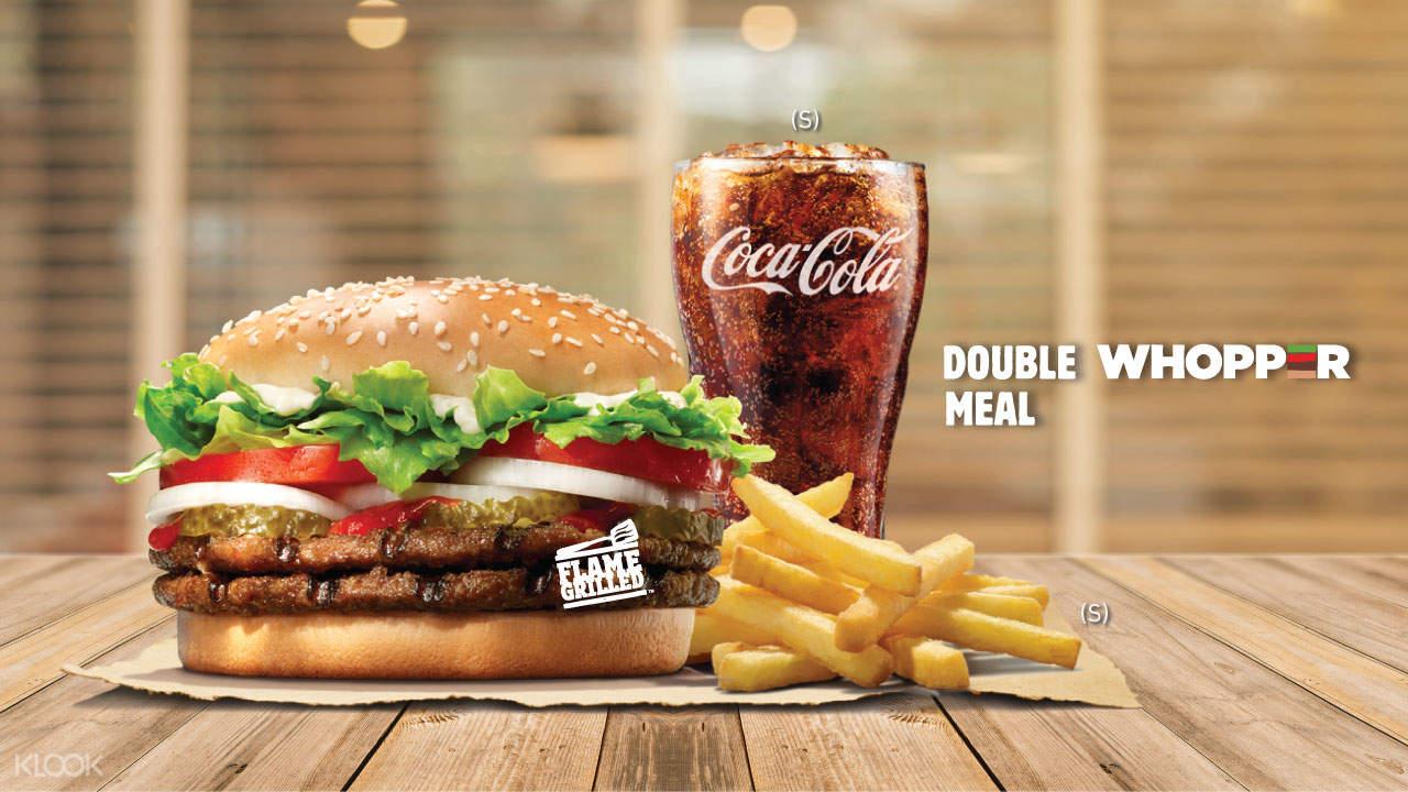 漢堡王熱銷產品