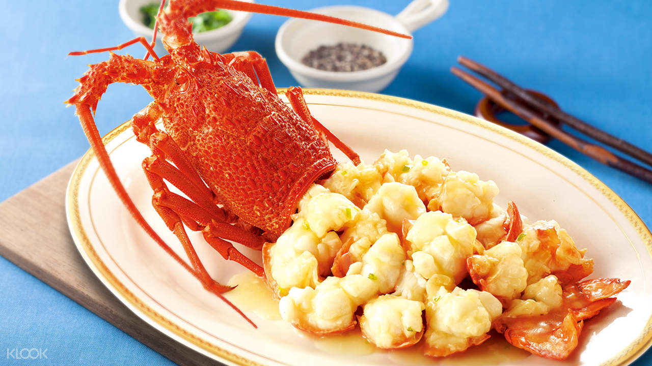 Lobster Simmered in Chicken Soup at King Harbour Restaurant in Fan Ling