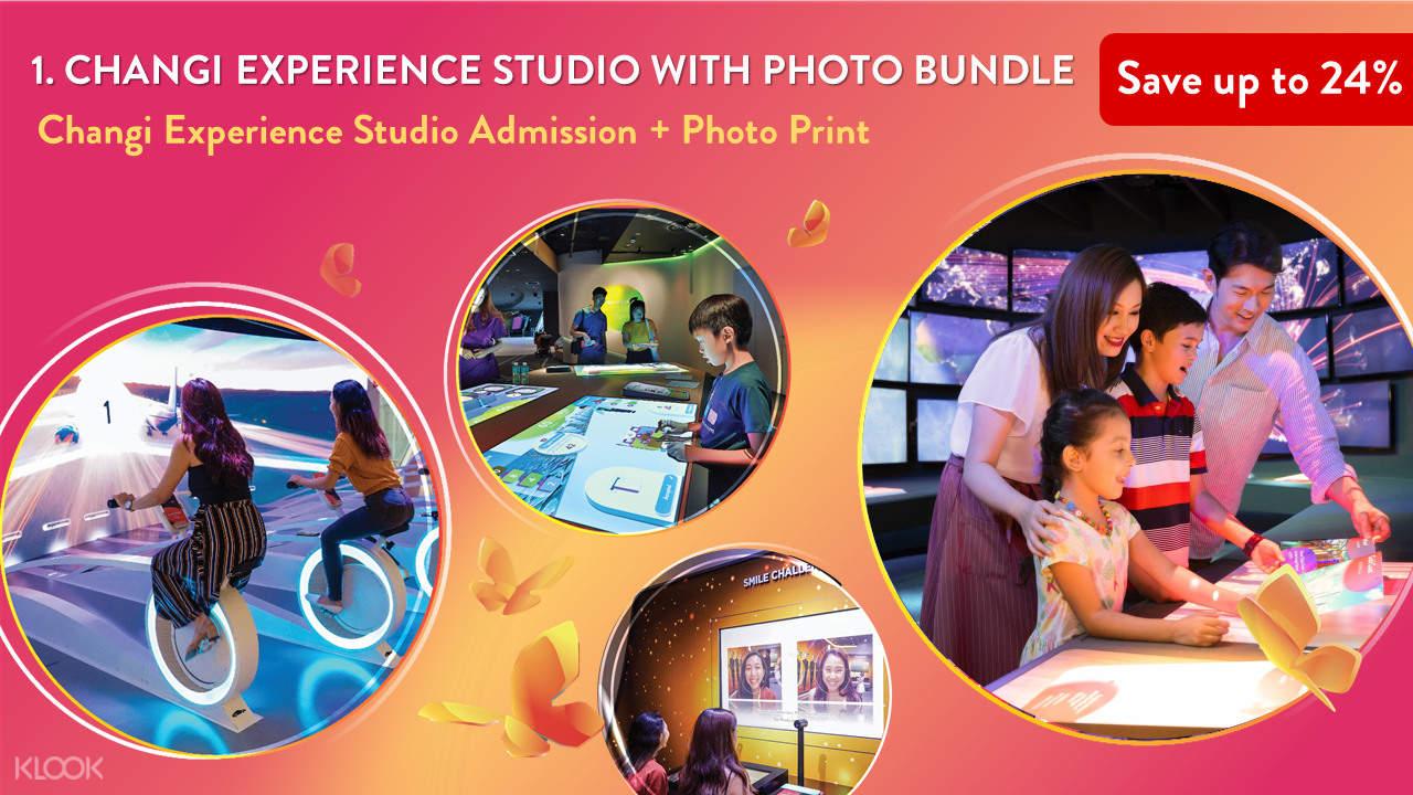 1. Changi Experience Studio with Photo Bundle
