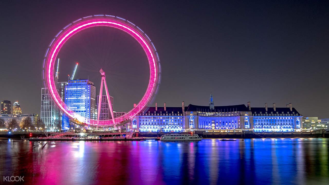 London hop on hop off nightbus