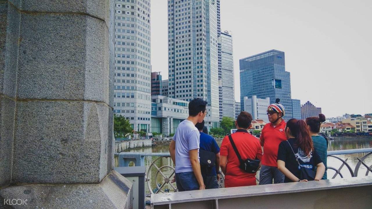 Singapore River Cycling Tour