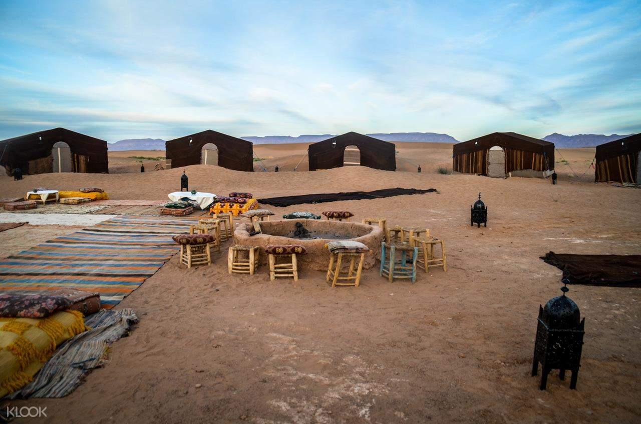 traditional desert camp